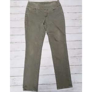 JAG Jeans - Olive Green High Rise Skinny Jeans